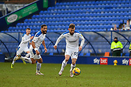 Tranmere Rovers midfielder Danny Lloyd receives the ball during the EFL Sky Bet League 2 match between Tranmere Rovers and Bolton Wanderers at Prenton Park, Birkenhead, England on 23 January 2021.