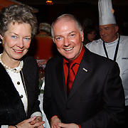 Kerstborrel Princess 2004, Mary Rost Onnes en Ronnie Tober