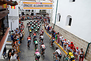 Illustration peloton, Scenery, during the UCI World Tour, Tour of Spain (Vuelta) 2018, Stage 8, Linares - Almaden 195,1 km in Spain, on September 1st, 2018 - Photo Luis Angel Gomez / BettiniPhoto / ProSportsImages / DPPI