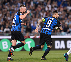 May 20, 2018 - Rome, Italy - Mauro Icardi during the Italian Serie A football match between S.S. Lazio and F.C. Inter at the Olympic Stadium in Rome, on may 20, 2018. (Credit Image: © Silvia Lore/NurPhoto via ZUMA Press)