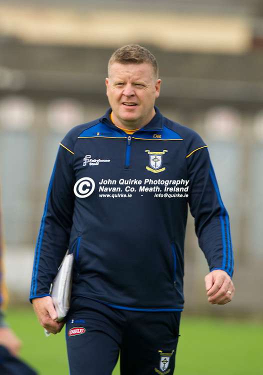 11-08-19. Ratoath v Summerhill - SFC - Group B - Round 3 at Pairc Tailteann, Navan.<br /> Davy Byrne, Ratoath Manager.<br /> Photo: John Quirke / www.quirke.ie<br /> ©John Quirke Photography, Unit 17, Blackcastle Shopping Cte. Navan. Co. Meath. 046-9079044 / 087-2579454.