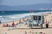 Hermosa Beach During Summer