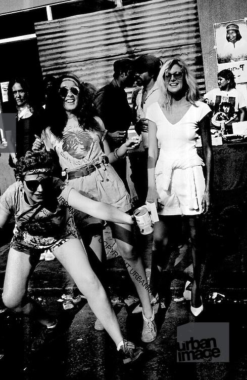 Carnival Party - Caroline Coon and Vivian Goldman - Notting Hill Carnival - 1980