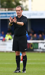 October 7, 2017 - Billericay, England, United Kingdom - Referee Michael Robertson-Tant.during Bostik League Premier Division match between Billericay Town against Hendon FC at New Lodge Ground, Billericay on 07 Oct 2017  (Credit Image: © Kieran Galvin/NurPhoto via ZUMA Press)
