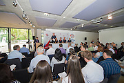 Caversham, Nr Reading, Berkshire.<br /> <br /> Top Table. Olympic Rowing Team Announcement  Press conference at the RRM. Henley.<br /> <br /> Thursday  09.06.2016<br /> <br /> [Mandatory Credit: Peter SPURRIER/Intersport Images] 09.06.2016,