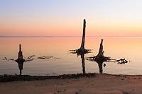 Sunrise over Rehobeth Bay, Delaware.