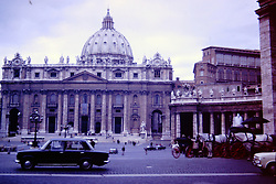 1971 Rome Italy<br />  Photos taken by George Look.  Image started as a color slide.