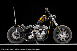 Trent Schara's Atomic Death Dealer, a 89ci Evo, built in 2019 Photographed by Michael Lichter in Sturgis, SD. August 4, 2020. ©2020 Michael Lichter