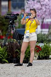 Nicolay Margot, BEL, groom<br /> Olympic Games Tokyo 2021<br /> © Hippo Foto - Dirk Caremans<br /> 21/07/2021