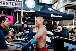 December 16, 2018 - Pupukea, Hawaii, U.S. - Kelly Slater of USA prior to Heat 6 of Round 2 at the Billabong Pipe Masters. (Credit Image: © Ed Sloane/WSL via ZUMA Wire)