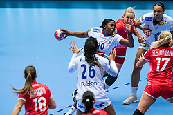Grace Zaadi Deuna of France in action during the Women's EHF Euro 2020 match between France and Russia at Jyske Bank BOXEN on december 11, 2020 in Kolding, Denmark (Photo by RHF Agency/Ronald Hoogendoorn)