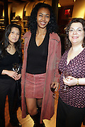 """30 March 2010-New York, NY- l to r: Jaycee Barnett, Julliett Powell, Laura Bucko at The Foundation for Social Change Announcement of Grammy Award-Winning Vocalist Patti Austin as The National Spokesperson for The Foundation for Social Change held at Longchamp on March 30, 2010 in Soho, New York City..The Foundation for Social Change mobilizes businesses to implement initiatives that benefit both their bottom line and the economic growth of their surrounding communities. We are a not-for-profit corporation focused primarily on U.S. issues. Our work is based on the principle: ?""""Do good to get good."""""""