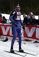 Langrenn ,Birkebeinerrennet   19 mars  2005 , Birkebeineren Skistadion  <br /> <br /> Stanislav Rezac , Tsjekkia vant