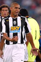 Bari 3/8/2004 Trofeo Birra Moretti - Juventus Inter Palermo. <br /> <br /> David Trezeguet Juventus<br /> <br /> Risultati / results (gare da 45 min. each game 45 min.) <br /> <br /> Juventus - Inter 1-0 Palermo - Inter 2-1 Juventus b. Palermo dopo/after shoot out <br /> <br /> Photo Andrea Staccioli