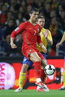 20090328: PORTO, PORTUGAL - Portugal vs Sweden: World Cup 2010 Qualifying Match. In picture: ronaldo . PHOTO: Ricardo Estudante/CITYFILES
