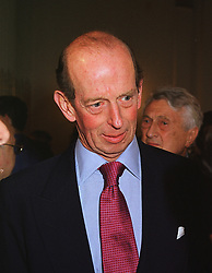 HRH The DUKE OF KENT at an exhibition in London on 10th June 1999.MTB 45