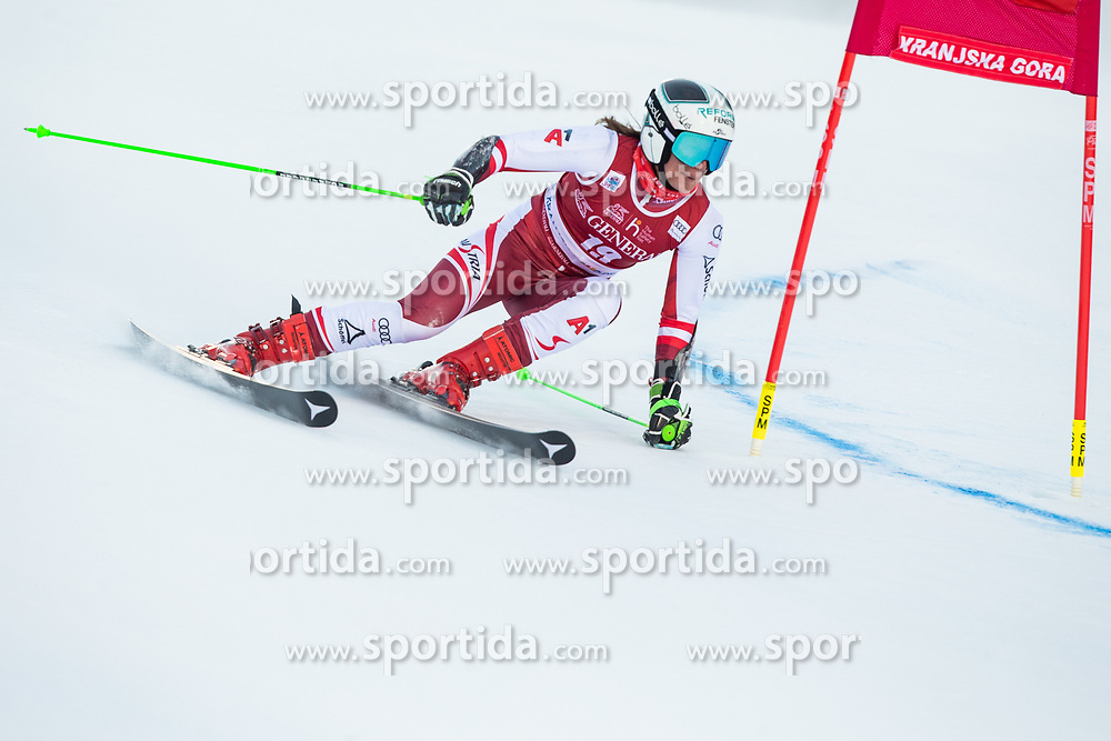 Ricarda Haaser (AUT) during the Ladies' Giant Slalom at 57th Golden Fox event at Audi FIS Ski World Cup 2020/21, on January 16, 2021 in Podkoren, Kranjska Gora, Slovenia. Photo by Vid Ponikvar