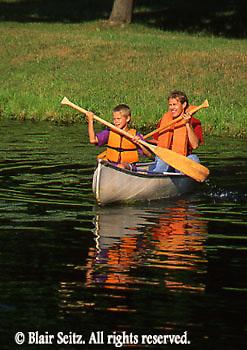 Canoeing, PA Rivers and Lakes, Farm Lake, PA