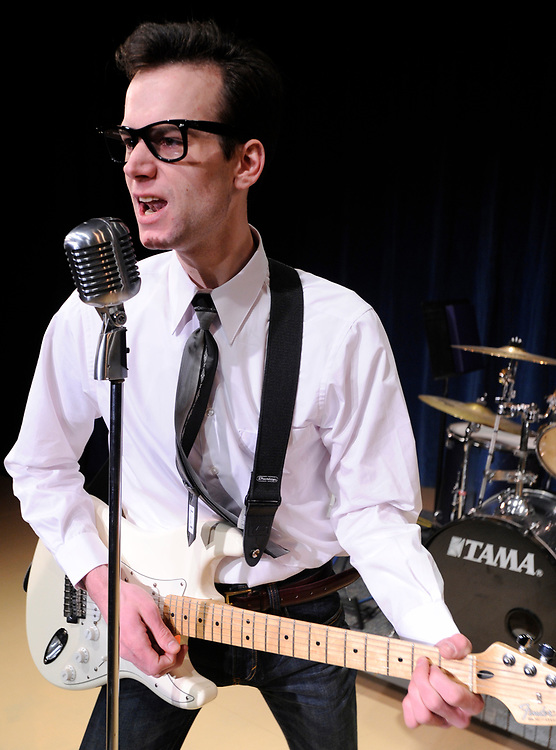 Buddy Holly at the Harwich Junior Theatre