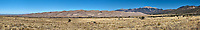 Great Sand Dunes National Park Panorama. Composite of seven images taken with a Nikon D2xs camera and 17-35 mm f/2.8 zoom lens (ISO 100, 35 mm, f/11, 1/125 sec).