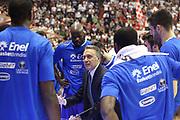 DESCRIZIONE : Campionato 2014/15 Giorgio Tesi Group Pistoia - Enel Brindisi<br /> GIOCATORE : Bucchi Piero<br /> CATEGORIA : Time out<br /> SQUADRA : Enel Brindisi<br /> EVENTO : LegaBasket Serie A Beko 2014/2015<br /> GARA : Giorgio Tesi Group Pistoia - Enel Brindisi<br /> DATA : 13/12/2014<br /> SPORT : Pallacanestro <br /> AUTORE : Agenzia Ciamillo-Castoria / Stefano D'Errico<br /> Galleria : LegaBasket Serie A Beko 2014/2015<br /> Fotonotizia : Campionato 2014/15 Giorgio Tesi Group Pistoia - Enel Brindisi<br /> Predefinita :