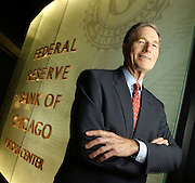 Michael Moskow, president of the Federal Reserve Bank of Chicago,