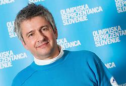 Dr. Matjaz Turel poses for a portrait during presentation of Team Slovenia for Sochi 2014 Winter Olympic Games on January 22, 2014 in Grand Hotel Union, Ljubljana, Slovenia. Photo by Vid Ponikvar / Sportida