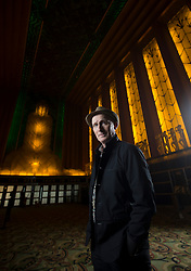 Graham Lustig, the artistic director of the Oakland Ballet Company, poses for a photograph in the atrium of the landmark Paramount Theatre, Wednesday, Nov. 8, 2017 in Oakland, Calif. (Photo by D. Ross Cameron)