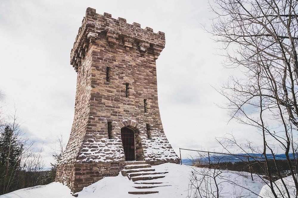 Ethan Allen Tower, Ethan Allen Park, Burlington, Vermont.