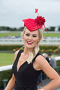 29/07/2017 Bookie Marcella McCoy on the third day of the Galway Races Plate day .   Photo:Andrew Downes, xposure