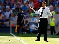Photo: Richard Lane/Sportsbeat Images.<br />Manchester United v Chelsea. FA Community Shield. 05/08/2007. <br />Chelsea manager, Jose Mourinho.