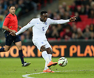 England's Danny Welbeck fires in a shot<br /> <br /> - International European Qualifier - England vs Slovenia- Wembley Stadium - London - England - 15th November 2014  - Picture David Klein/Sportimage