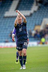 Dundee's Kenny Miller at the end. Dundee 1 v 3 Motherwell, SPFL Ladbrokes Premiership game played 1/9/2018 at Dundee's Kilmac stadium Dens Park