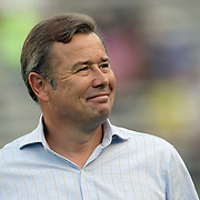 Orlando City head coach Adrian Heath during an International Friendly soccer match between English Premier League team Newcastle United and the Orlando City Lions of the United Soccer League, at the Florida Citrus Bowl on Saturday, July 23, 2011 in Orlando, Florida. Orlando won the match 1-0. (AP Photo/Alex Menendez)