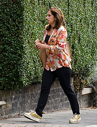 © Licensed to London News Pictures. 08/09/2018. London, UK. MARINA JOHNSON, wife of Boris Johnson is seen for the first time since she announced she would be divorcing her husband Boris Johnson. The Former foreign secretary and his wife of 25 years, confirmed they have separated. Photo credit: Ben Cawthra/LNP