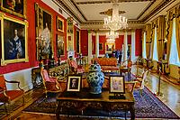 République d'Irlande, Dublin, interieur du Chateau de Dublin (Dublin Castle) // Republic of Ireland, Dublin, interior of the historical Dublin Castle at Dame Street