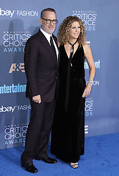 Tom Hanks, Rita Wilson, The 22nd Annual Critics Choice Awards at Barker Hangar (Santa Monica, CA.)