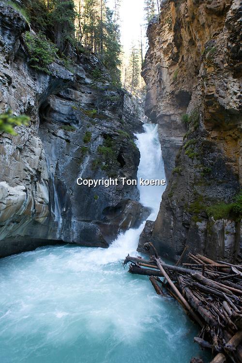 Johnson canyon, Alberta, Canada