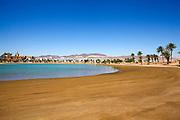 Eilat, Israel the artificial lagoon