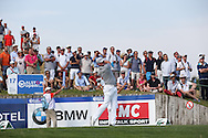 Jamie Donaldson (WAL) plays from the 17th during Round Two of the 2015 Alstom Open de France, played at Le Golf National, Saint-Quentin-En-Yvelines, Paris, France. /03/07/2015/. Picture: Golffile   David Lloyd<br /> <br /> All photos usage must carry mandatory copyright credit (© Golffile   David Lloyd)