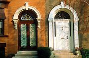 CHICAGO, HISTORIC ARCH. Alta Vista Terrace Landmark Rowhouses in Northside neighborhood