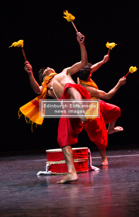 Pictured:  Mela on Your Doorstep event. A snapshot of the annual Glasgow Mela, which takes place next weekend, including music and dance. Tramway, Manipur Dance by Tapsaya<br /> <br /> Karen Gordon  (c) Edinburgh Elite media 10 July 2016
