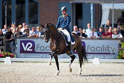 Van Silfhout Diederick, NED, Arlando<br /> Nederlands Kampioenschap Dressuur - Ermelo 2016<br /> © Hippo Foto - Leanjo de Koster<br /> 15/07/16