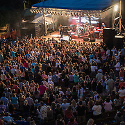 Rick Springfield preformed for a packed house in the Old Town Amphitheater in Rock Hill, South Carolina.