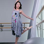 Maiko Nishino-Ekeberg, prima ballerina of the Oslo Opera and Ballet company