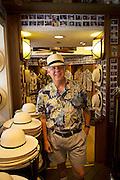 Lee Lockhart, Newt at The Royal, Montecristi Panama Hats, Waikiki, Oahu, Hawaii