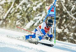 Andre Myhrer (SWE) competes during 9th Men's Giant Slalom race of FIS Alpine Ski World Cup 55th Vitranc Cup 2016, on March 4, 2016 in Kranjska Gora, Slovenia. Photo by Vid Ponikvar / Sportida