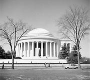 9969-D23. Jefferson Memorial, Washington, DC, March 24-April 1, 1957