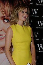 "© Licensed to London News Pictures. 26/10/2013<br /> Amanda Holden dressed in Yellow at Waterstones book shop in the Bluewater Shopping Complex in Kent (today 26.10.2013) for a book signing of her new book <br />  ""No Holding Back"" .<br /> Photo credit :Grant Falvey/LNP"
