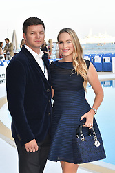 Gareth Wittstock and his wife Roisin Gavin attends Amber Lounge UNITE 2018 in aid of Sir Jackie Stewart's foundation 'Race Against Dementia' at Le Meridien Hotel on May 25, 2018 in Monte-Carlo, Monaco. Photo by Laurent Zabulon/ABACAPRESS.COM